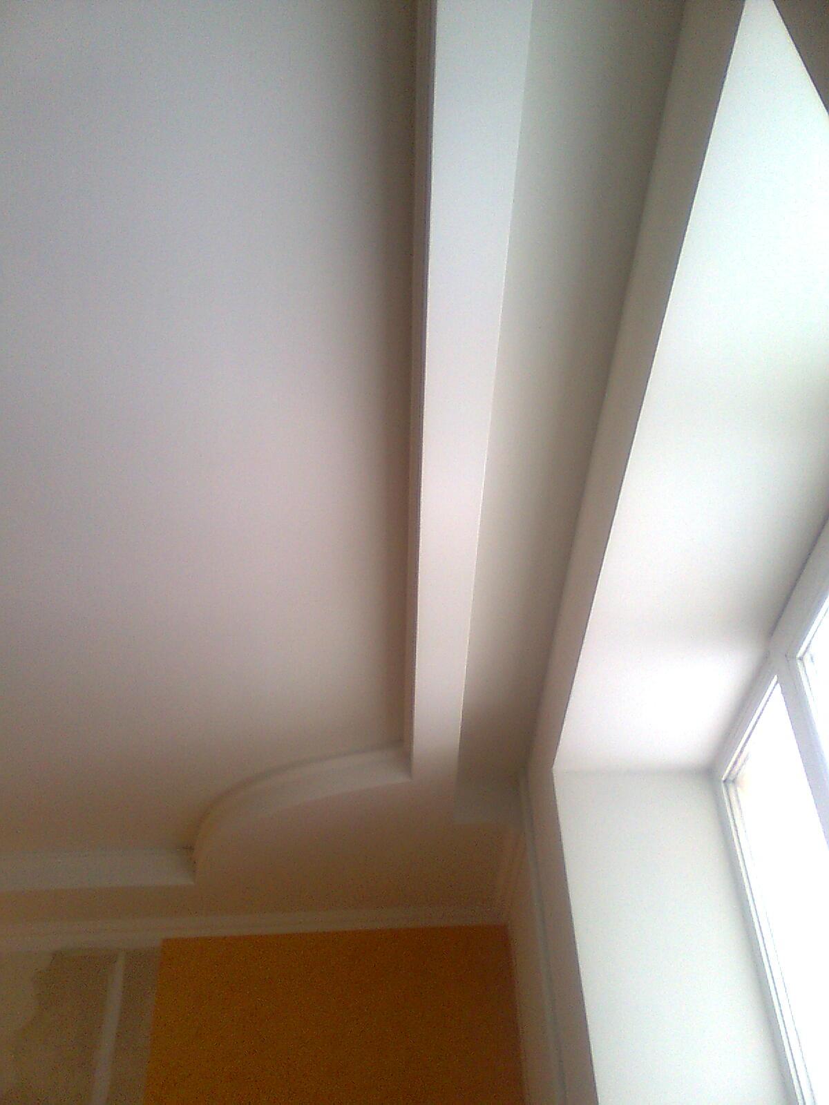 Как сделать нишу в потолке для гардины
