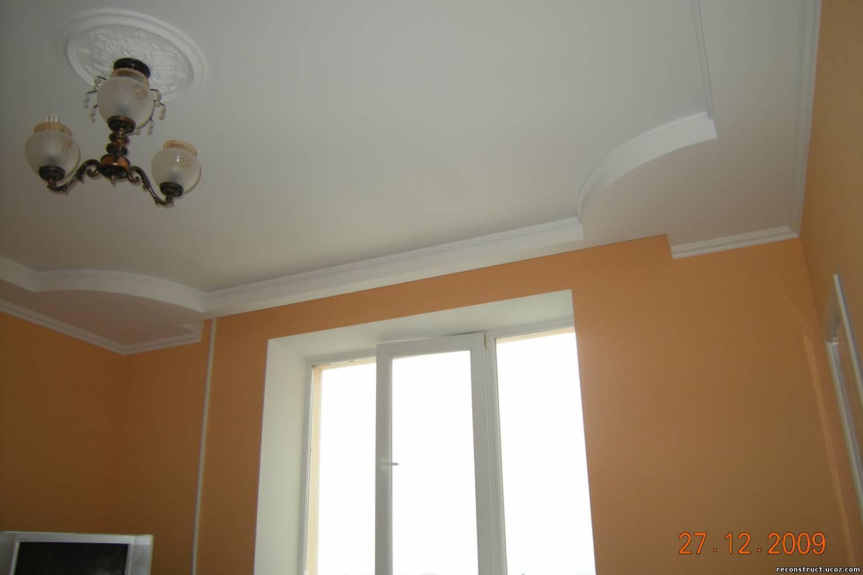 Ремонт квартиры своими руками фото потолки